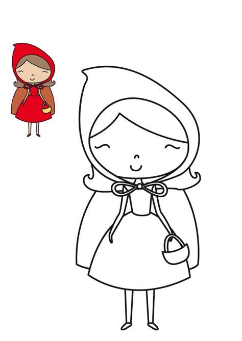imagenes infantiles rojas dibujos para colorear de caperucita roja clases