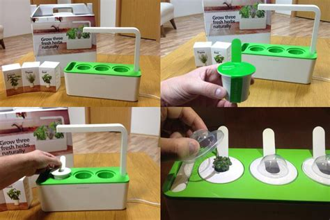 Click And Grow by This Smart Herb Garden Lets You Click Amp Grow Freshome Com