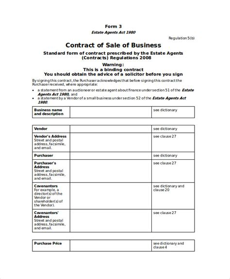 10 sle sales contract agreements sle templates