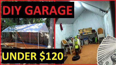 car shelter with floor diy carport garage shelter storage recycled pallet floor