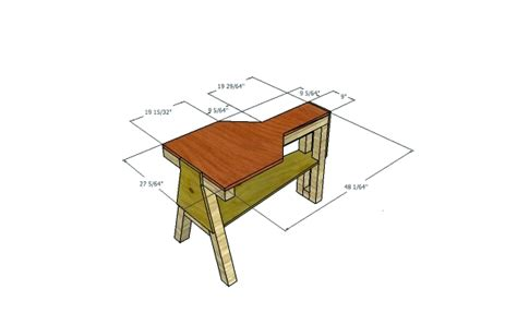 shooting bench height diy portable shooting bench plans woodguides