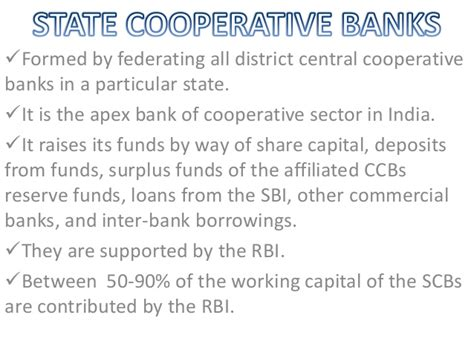 the cooperative bank cooperative credit institutions