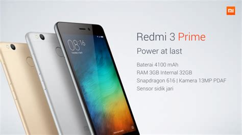 erafone redmi redmi 3 prime dirilis di indonesia tapi genmuda com
