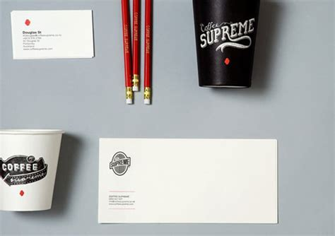 coffee supreme 25 exles of brand identity design done right hongkiat
