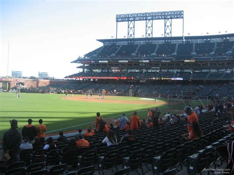 san francisco section at t park section 132 san francisco giants