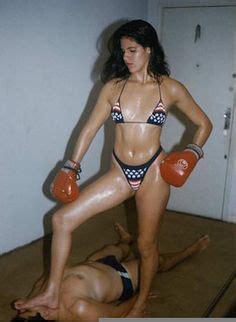 mixed boxing images   boxing girl women