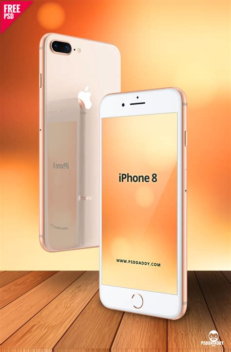 t iphone 8 iphone 8 mockup free psd psddaddy