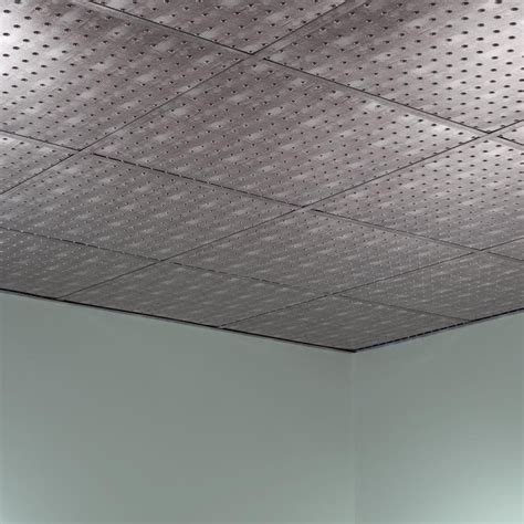 fasade ceiling tile 2x2 suspended minidome in crosshatch
