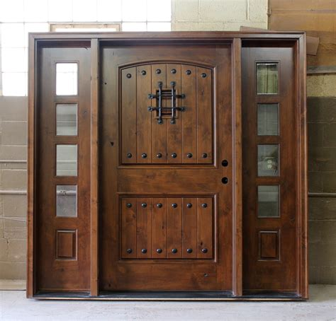 What Are Exterior Doors Made Of Tips On Choosing The Right Exterior Doors Ward Log Homes
