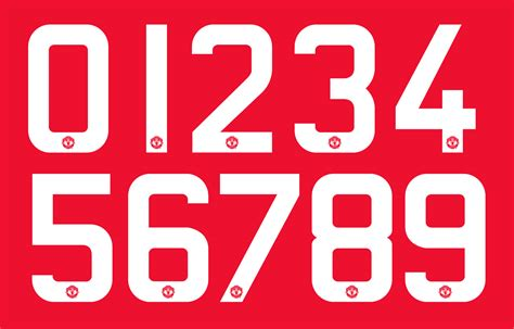 design font jersey adidas manchester united 15 16 font revealed footy