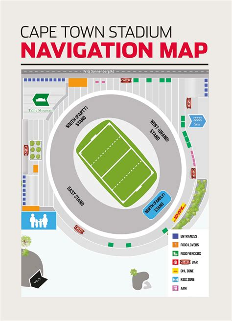 cape town stadium floor plan sa rugby official home of the springboks