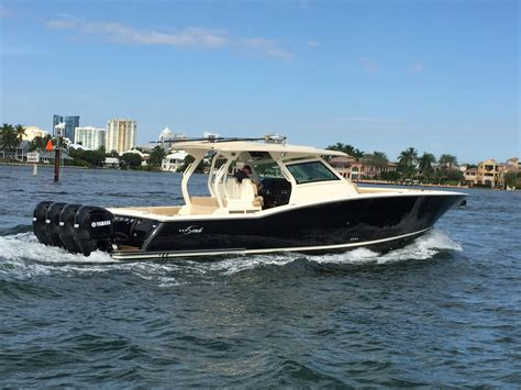 2017 scout 420 lxf power boat for sale www yachtworld - Scout Boats