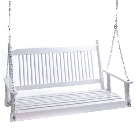 white patio swing 4 white porch swing from cracker barrel sleeping