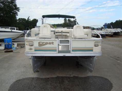 pontoon boats for sale in jackson ga used 2003 crest 220 super sport jackson ga 30233