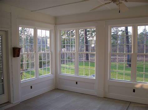 Sun Porch Windows Designs with Remodel Project Sun Porch Turned Into Sunroom Sun Porch Beautiful Wall Of Windows Interior