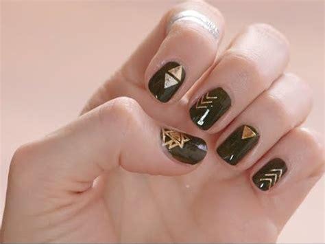 flash tattoo nails diy flash tattoos nail file youtube