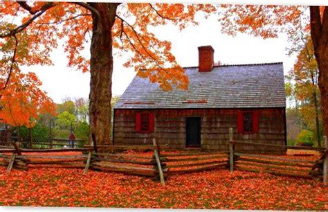 autumn cottage hd   cool landscape wallpaper