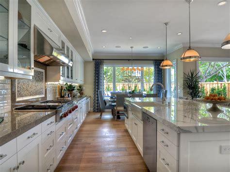 Traditional White Kitchen with Farmhouse Sink   HGTV