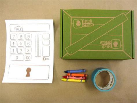How To Make A Paper Register - pretend register by kiwi crate get steam stem