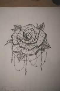 Crystal Ball Chandelier Tattoo Geometric Rose Tattoos Pinterest Manche