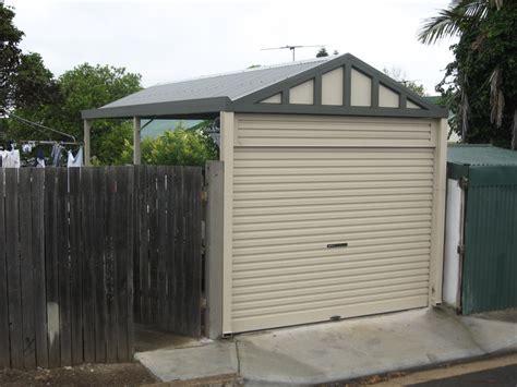 Carport With Garage Door carports with roller doors starport constructions