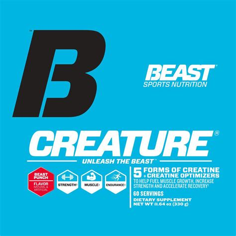 b creature creatine reviews beast sports nutrition creature creatine