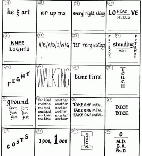printable rebus puzzle printable brain teaser worksheets for middle school