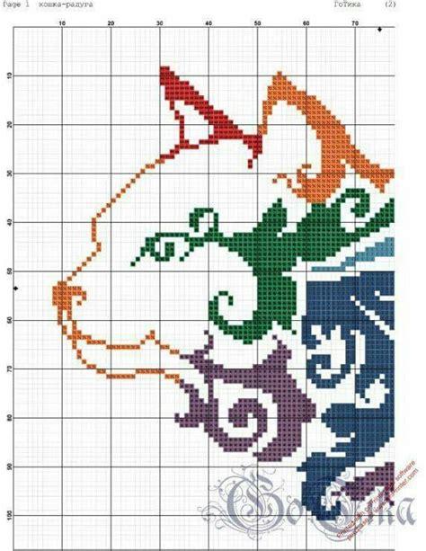 molde de gatos en punto de cruz 3 jpg m 225 s de 1000 im 225 genes sobre cross stirch en pinterest