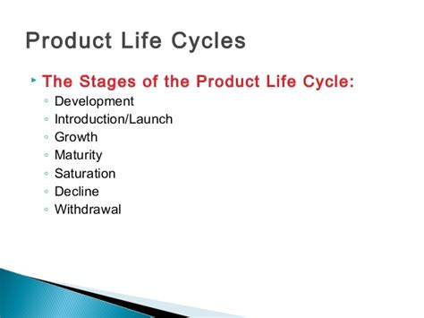 Mba Product Cycle by Product Cycle Plc Boston Consultancy Bcg