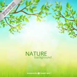 Nature Template by Nature Background Vector Free