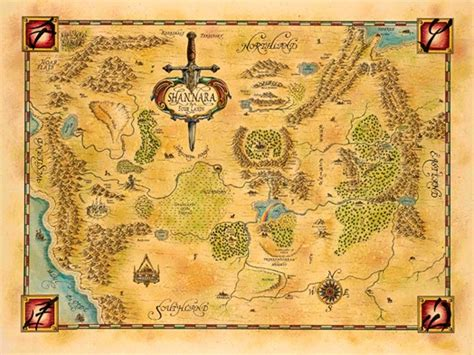 Pattern Illusion World My Own World 4 Series Khalezza Tria N new shannara map of the four lands book review