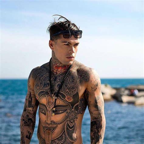 tattooed model search model stephen by adam fussell stephen