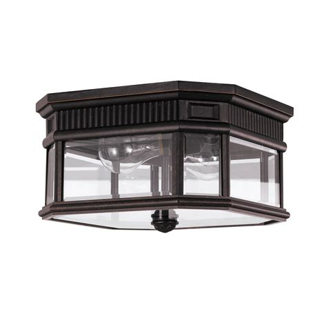 cotswold flush outdoor ceiling light