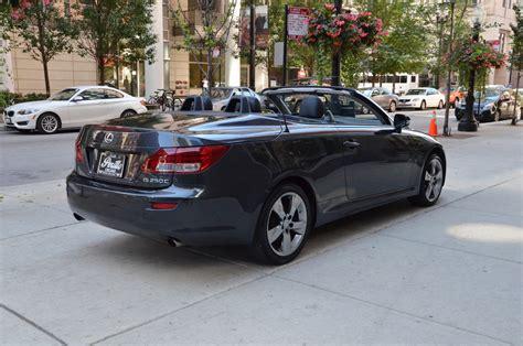 lexus dealers chicago 2011 lexus is 250c stock m318a for sale near chicago il