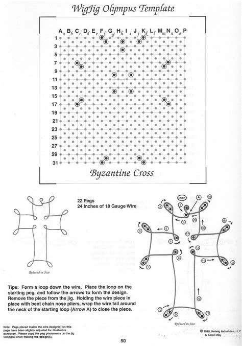wire pattern wire jewelry tips wire cross patterns wigjig sale more