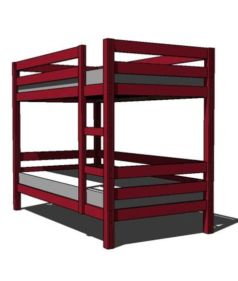 bunk bed design plans building plans for twin over full bunk beds with stairs