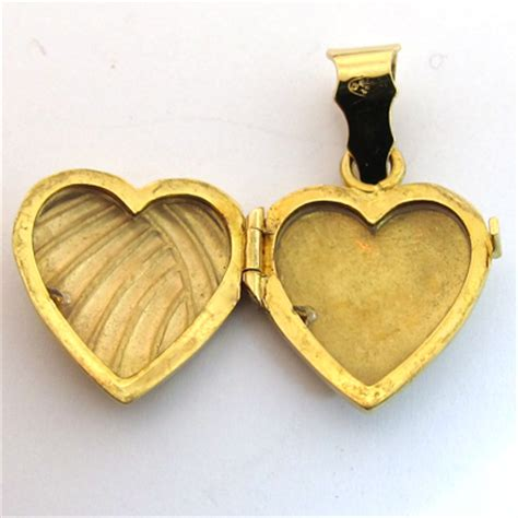 porte or pin pendentif coeur argent cadeau de valentin pour