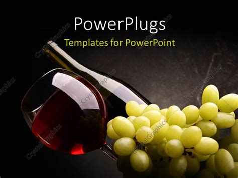 powerpoint templates free wine powerpoint template red wine in bottle and glass with a