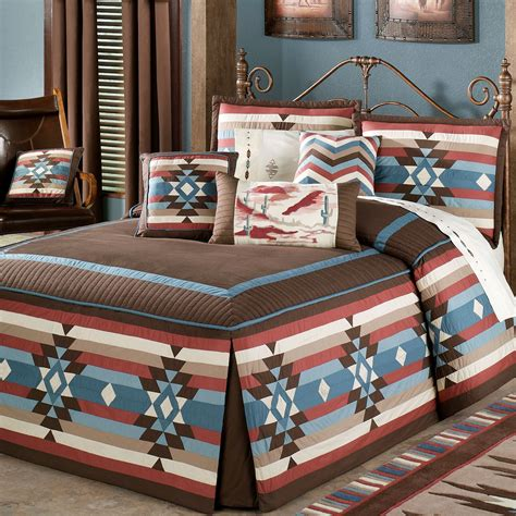 southwest comforters and bedspreads southwest frontier fitted grande bedspread bedding