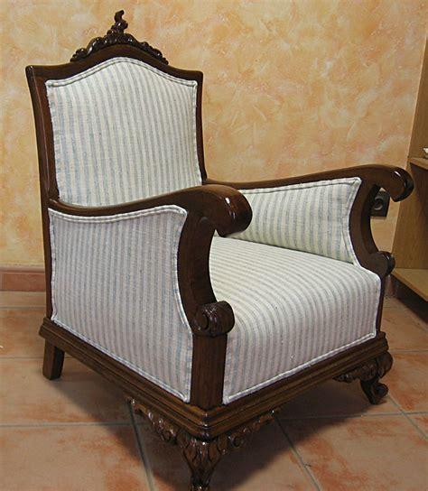 muebles para restaurar madrid restauraci 243 n y tapizado de butaca descalzadora del siglo