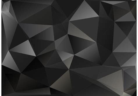 wallpaper vector black and white black polygon vector background free vector art at vecteezy