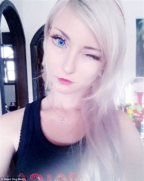 human barbie doll eyes brazilian human barbie andressa damiani claims her