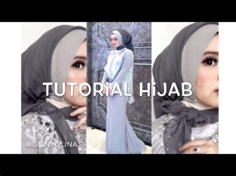 tutorial hijab pesta rawis 15 tutorial hijab segi empat paris rawis wisuda pesta
