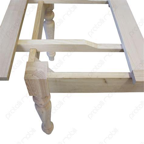 tavolo grezzo pratelli mobili tavolo grezzo su misura in castagno
