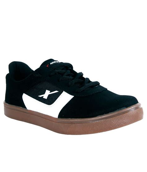 black sport shoes sparx black sport shoes price in india buy sparx black
