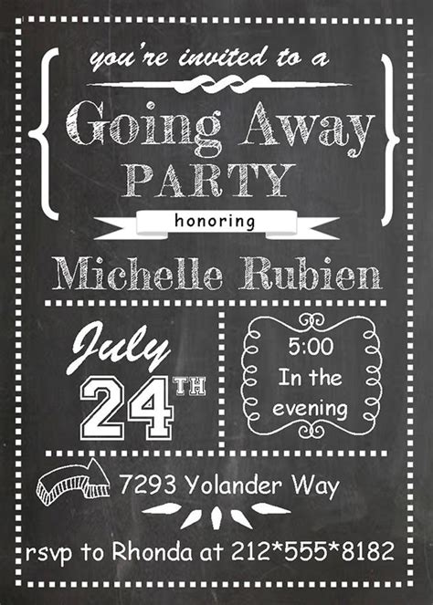 Farewell Party Invitation Template 29 Free Psd Format Download Free Premium Templates Going Away Invitation Template Free