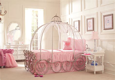 disney princess 6 pc carriage bedroom disney