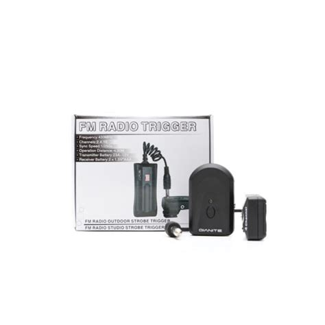 Wireless Trigger Dan Receiver Dc 04a qianite wireless trigger dc 04a perlengkapan mini studio