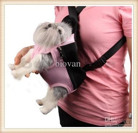 puppy carry bag front backpack carrier