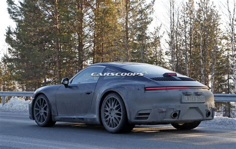 new porsche 2019 2019 porsche 911 spy shots highlight its mission e